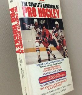 Complete Handbook of Pro Hockey 1980
