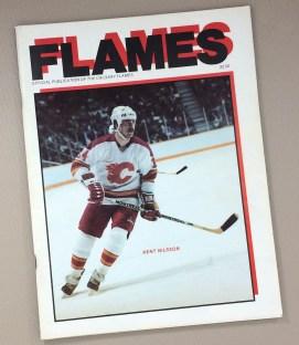 Calgary Flames 1984 Program