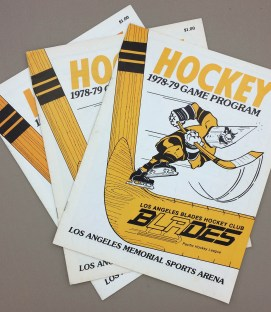 Los Angeles Blades 1978-79 Programs