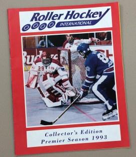 Roller Hockey International Inaugural Yearbook