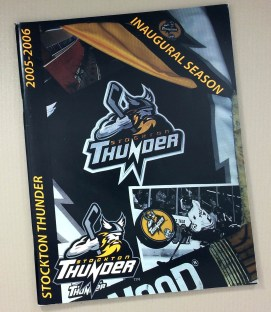 Stockton Thunder 2005-06 Program