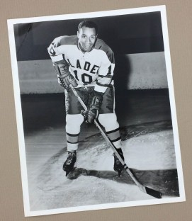 Willie O'Ree Blades Glossy Photo