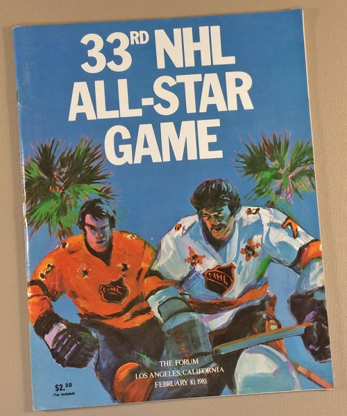 NHL All Star Game 1981 Program