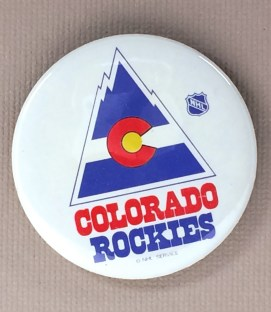Colorado Rockies Mini Button