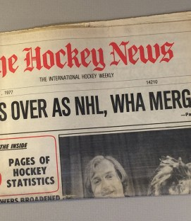 The Hockey News NHL and WHA merger Issue