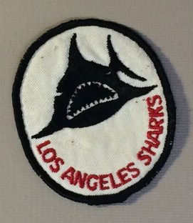 Los Angeles Sharks Team Patch