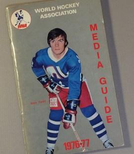 World Hockey Association (WHA) 1976 Media Guide