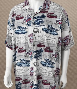 Men's Button Down Racing Shirt