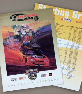 1998 California 500 Program