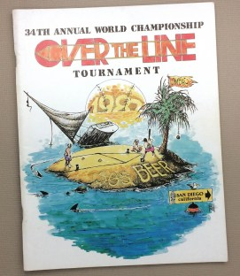 Over The Line 1987 Tournament Program