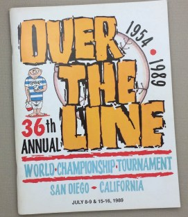 Over The Line 1989 Tournament Program