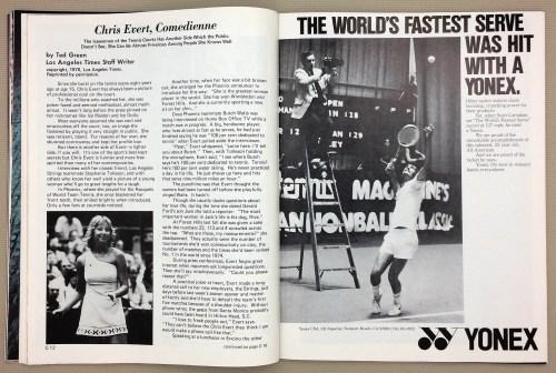 Yonex 1978 Racquet Ad