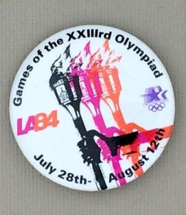 1984 Los Angeles Olympics Mini Button