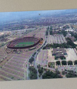 Postcard of Monterrey's Estadio Universario