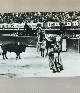 Litho Postcard Plaza de Toros Mexico City