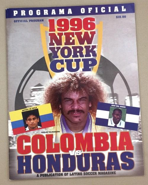 New York Cup 1996 Program