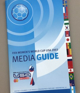 FIFA 2003 WOMEN'S WORLD CUP Media Guide