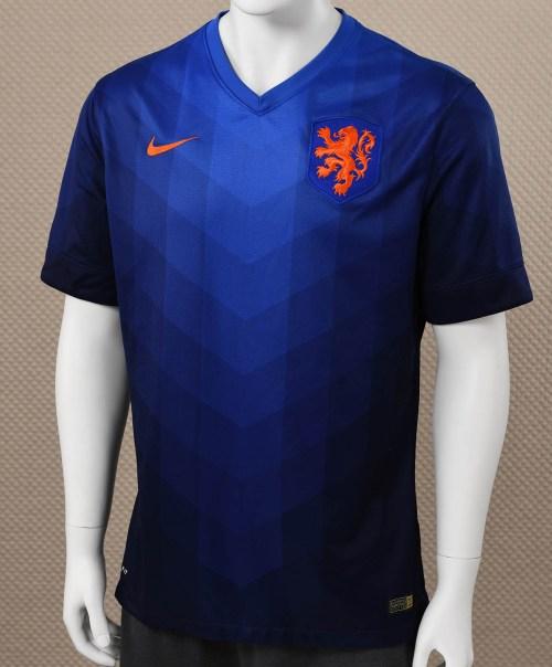 Nike Holland Blue Jersey