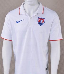 Nike US Soccer Mens 2014 White Jersey