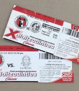 Tijuana Xolos 2010 Liga Ascenso Tickets