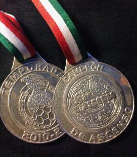 Xolos 2011 Ascenso Champions Medal