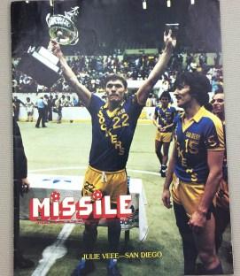 San Diego Sockers 1982 MISL Program