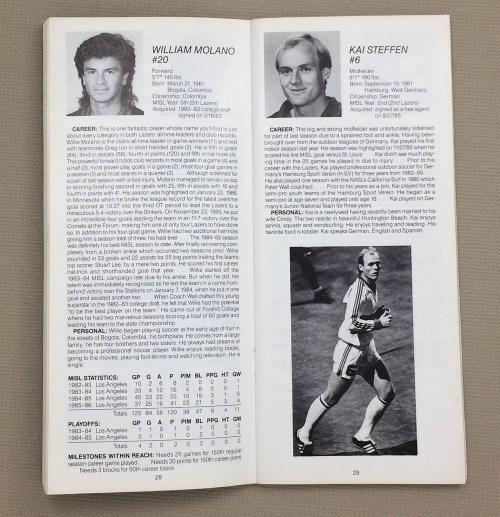 LA Lazers, Willie Molano, Kai Steffen
