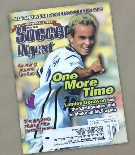 Soccer Digest May 2002 Issue