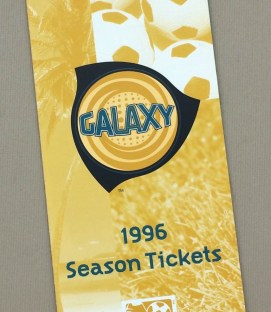 Los Angeles Galaxy 1996 Inaugural Season Ticket Brochure
