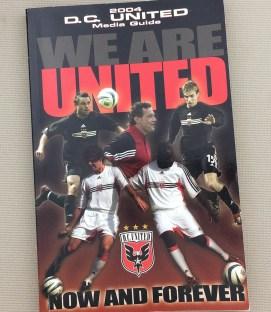 DC United 2004 Media Guide