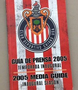 Chivas USA 2005 Media Guide