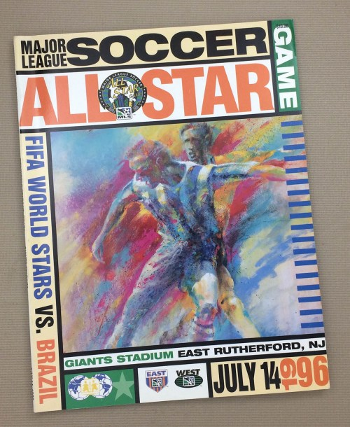 1996 MLS All-Star Game Program