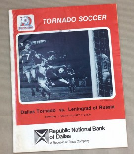 1977 Dallas Tornado Leningrad Program