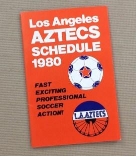 Los Angeles Aztecs 1980 NASL Schedule