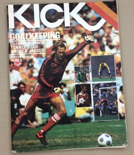 Kick Magazine Sockers Sting 1982 Program