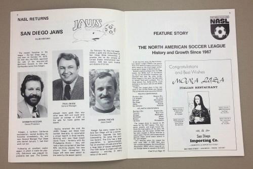 San Diego Jaws Paul Deese, Derek Trevis