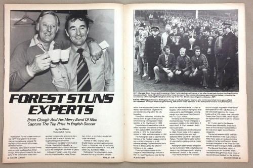 Nottingham Forest 1977-78 Champions