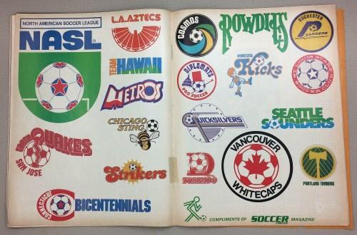 1977 NASL Team Logos