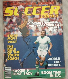 Soccer Corner Magazine May 1978