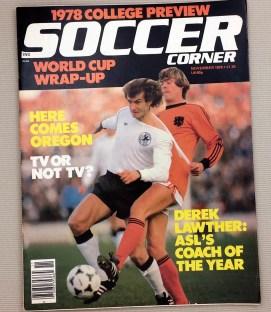 Soccer Corner Magazine November 1978
