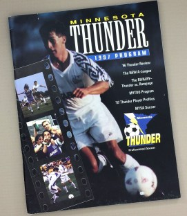 Minnesota Thunder 1997 Program