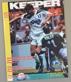1995 Continental Indoor Soccer League Magazine