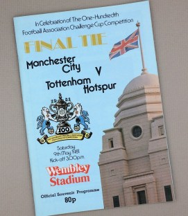 May 9th, 1981 FA Challenge Cup Final Tie Game Program