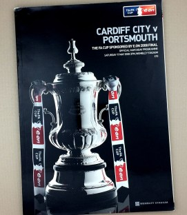 May 17th, 2008 FA Cup Final Game Program