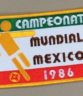 Mexico 1986 Mundial Patch (Parche)