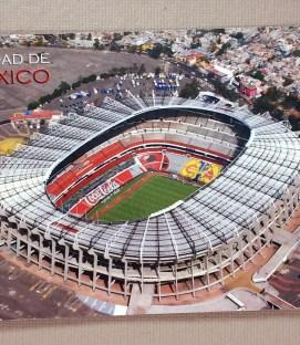 Estadio Azteca Aerial Postcard