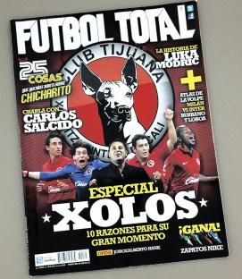 2012 Tijuana Xolos Issue of Futbol Total