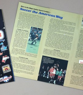 Major Indoor Soccer League 1980-81 Brochure