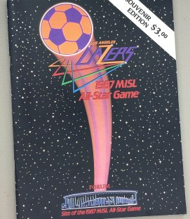 1987 MISL All Star Game Program