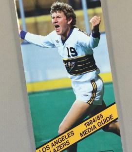 Los Angeles Lazers 1984-85 Media Guide
